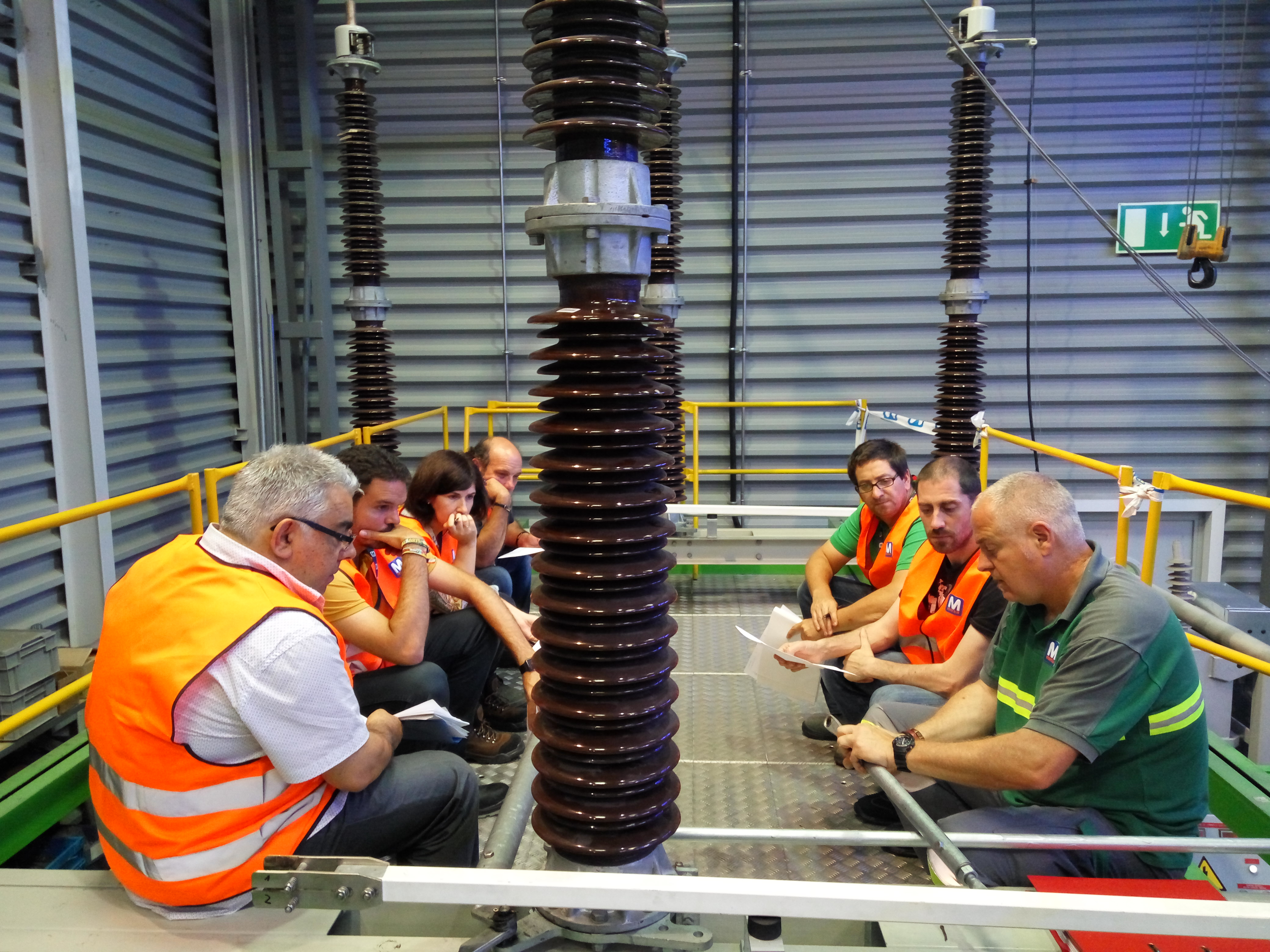 High Voltage Disconnectors training for REE in MESA | MESA News